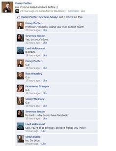 HAHAHAHA!     from: HP Facebook convos - harry-potter-vs-twilight Photo