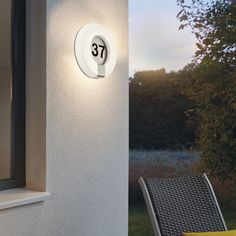 RGB LED Wandlampen Farbwechsel Fernbedienung Sensor Außenleuchten Terrasse IP44