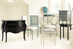 Learn about our vintage lacquer collection, from Ballard Designs