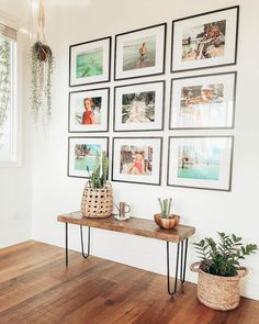 147 amazing entryway wall decor ideas to create memorable first impression -page. - my best home decor list Entryway Gallery Wall, Decor, Interior Design Living Room, Bedroom Images, Wall Decor, Entryway Wall Decor, Home Decor, Room Decor, Home Deco