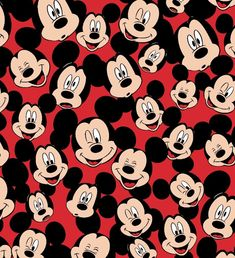 Disney Fabric,Mickey Mouse, Minnie Mouse Fabric Disney Mickey Mouse Fleece Fabric 59 Tossed Mickey Heads Joann in Disney Fabric,Mickey Mouse, Minnie Mouse Fabric Mickey Mouse Wallpaper Iphone, Halloween Wallpaper Iphone, Cute Disney Wallpaper, Cartoon Wallpaper, Mickey Mouse Images, Mickey Mouse Art, Mickey Mouse And Friends, Mickey Mouse Background, Miki Mouse