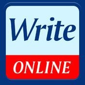 WriteOnline - writing app with word prediction