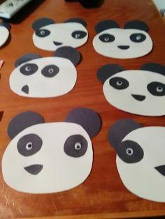 Panda daycare toddler craft