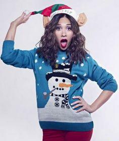 5 bonnes raisons de porter le pull de Noël - http://www.flair.be/fr/mode/264540/5-bonnes-raisons-de-porter-le-pull-de-noel