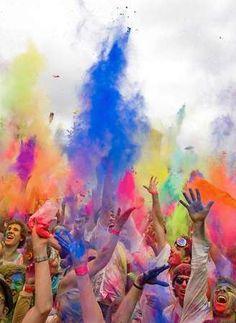 Festival of Colours, Berlin. #event #colour #berlin #celebration #party More information: visitBerlin.com