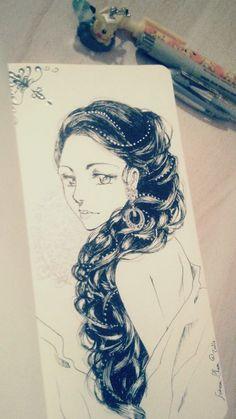 #inktober #sketch #draw #artwork / Sorina-Chan § Find more artworks: www.pinterest.com/aalishev/pins
