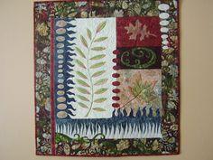 Batik Leaves by sandydekker1 on Etsy, $145.00