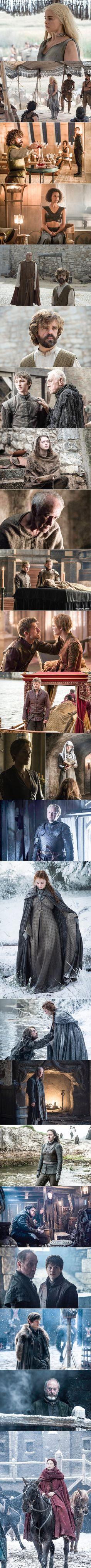 """Game Of Thrones"" Season 6 New Stills, Everyone Looks Miserable (Spoiler)"