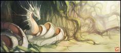 Forest dragon by GaudiBuendia on deviantART