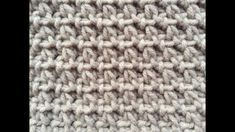 A very easy one row repeat crochet stitch, great for washcloth , dishcloth or any crochet project you'll like to do. Dishcloth, Video Tutorials, Crochet Stitches, Quilt Blocks, Lana, Crochet Projects, Crocheting, Make It Yourself, Quilts