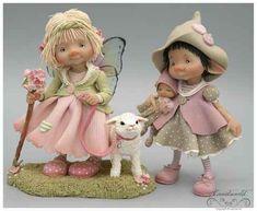fairy puppets / fotogalerij | enaidsworld Polymer Clay Dolls, Polymer Clay Crafts, Diy Clay, Fairy Statues, Fairy Figurines, Felt Dolls, Doll Toys, Hobbit, Fairy Village
