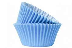 Sky blue cupcake / muffin cake #cases #different quantities #available,  View more on the LINK: 	http://www.zeppy.io/product/gb/2/371144409851/