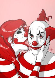 Beso by Dirty Clown, via Behance