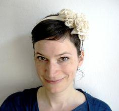 ber ideen zu stoffblumen machen auf pinterest stoffblumen anleitung f r stoffblumen. Black Bedroom Furniture Sets. Home Design Ideas
