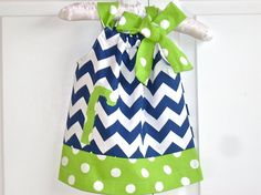 baby dress baby clothes newborn personalized by BackPorchKids, $34.00