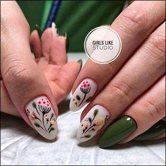 152 cute nail art designs for short nails 2019 page 26 nailart Cute Nail Art Designs, Nail Art Cute, Nail Designs Spring, Cute Nails, Spring Nail Art, Spring Nails, Summer Nails, Nail Art Mignon, Manicure