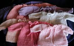 Wishing I was Knitting at the Lake: Baby Jiffy Knit Sweater. Five hour baby sweater.