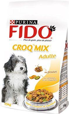 Fido Croq Mix Croquettes pour chien adulte Poulet, Céréales & Légumes 15 kg | Your #1 Source for Pet Supplies