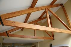 Douglas fir mono Truss | Flickr - Photo Sharing!