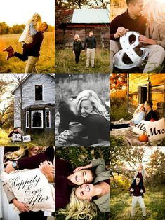 Who knew an abandon home good look so good? Fall engagement photos taken by Whitley B. Photography in Central Minnesota. We can't thank Whitley enough for taking our DIY engagement photos above and beyond our expectations! My hubby and I are beyond thrilled to be sharing these with everyone! Enjoy! #HappilyEverAmundsons #EngagementPhotos #Fall