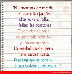 Pensamientos En Espanol | frases de amor carta de amor 219x225