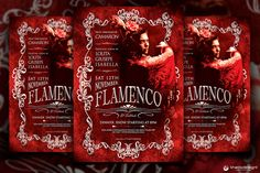 Check out Flamenco Flyer Template V2 by ThatsDesign on Creative Market
