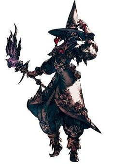Black Mage - Final Fantasy XIV A Realm Reborn Wiki - FFXIV / FF14 ARR Community Wiki and Guide