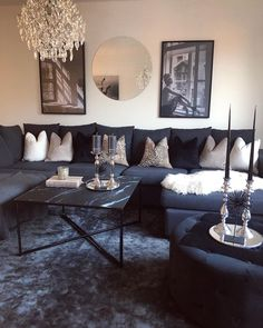 New Living Room, Home And Living, Living Room Decor, Living Room Inspiration, Home Decor Inspiration, Inspire Me Home Decor, Living Room Designs, Home Furniture, Decoration