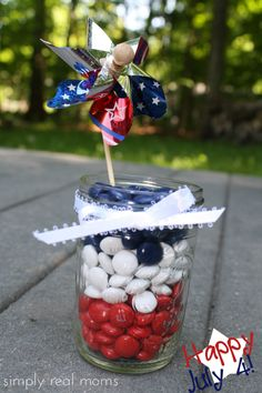 4th Of July Vase Filler