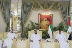 The President, Sheikh Khalifa, received Supreme Council members and rulers, crown princes and Deputy Rulers of the emirates at Al Bateen Palace in Abu Dhabi on Sunday to mark Eid Al Fitr. Wam     Sheikh Khalifa exchanged greetings on the occasion of Eid Al Fitr. Wam     The rulers and...
