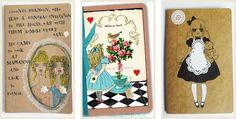 Alice in Wonderland Moleskin Notebook