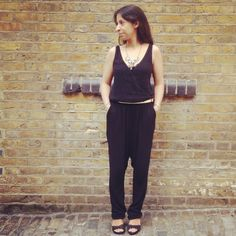 The little black Zara jumpsuit that could... - Mummy Says...