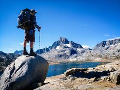 John Muir Trail. DEFINITELY on the to-do list. 210 miles....a shorter (warm-up perhaps?) to doing the Pacific Crest Trail