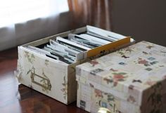 What to do with boxes of photographs