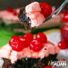 The Slow Roasted Italian - Printable Recipes: Outrageous Cherry Dr Pepper Cake