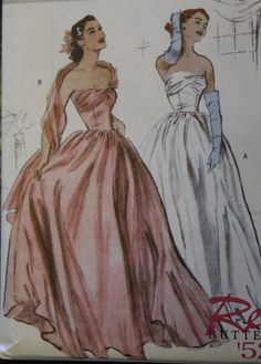 Butterick B4918 Retro 1952 Sewing Pattern by LaneysThisandThat, $7.95
