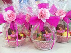 Cestitas de dulces personalizadas