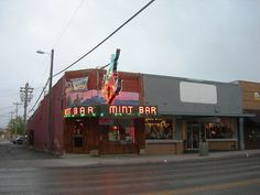 The Mint Bar in Sheridan, Wyoming