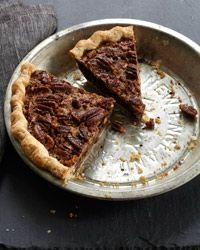 Chocolate Pecan Pie with Bourbon from Food & Wine: I'll be making thi...