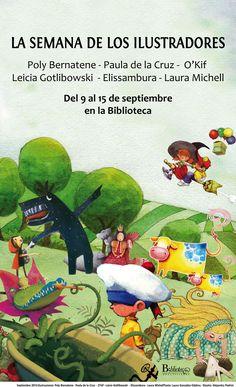 Semana de los Ilustradores    Del 9 al 15 de septiembre en la Biblioteca