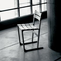 Jasper Morrison La Tourette Chair.  A shame that only 100 were made.