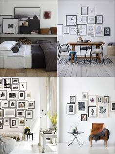 In this post I will show you 6 interesting ideas for interior design, some simple ideas and creativity that can come in handy in case of panic as decoration.