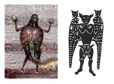 medieval paintings of demons - Google Search