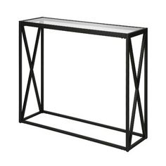Union Rustic Jeremiah Console Table | Wayfair.co.uk Hallway Shoe Storage, Modern Console Tables, Elephant Colour, Cleaning Materials, Glass Table, Glass Shelves, Montage, Decorative Items, Entryway