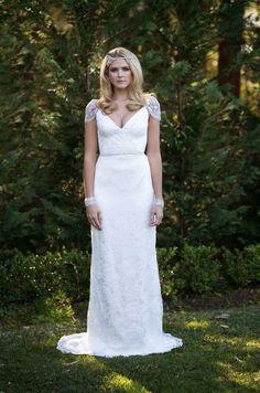 Vestidos de Novia de Estilo Gran Gatsby   Preparar tu boda es facilisimo.com