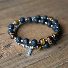 Men's Jewelry - Yoga Inspired Jewelry Collection Chakra Jewelry, Chakra Bracelet, Men's Jewelry, Handmade Jewelry, Beaded Jewelry, Jewellery, Bracelets For Men, Fashion Bracelets, Beaded Bracelets
