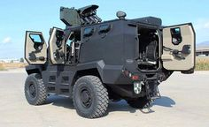 Turkish Katmerciler Hızır 4x4 wheeled mine resistant armored combat vehicle APC IFV MRAP
