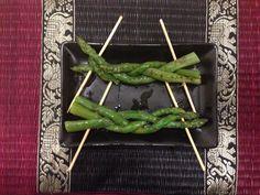 Trecce di asparagi alla griglia