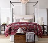 Mikela Printed & Embroidered Duvet Cover, Full/Queen, Multi