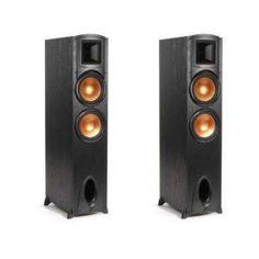 We don't believe in cutting corners, which is why our Synergy Series speakers embody a no-compromise attitude and produce powerful, live-performance sound at such a modest price. Klipsch Speakers, Audio Speakers, Floor Standing Speakers, Best Deals On Laptops, Dolby Atmos, Bookshelf Speakers, Yamaha, Label